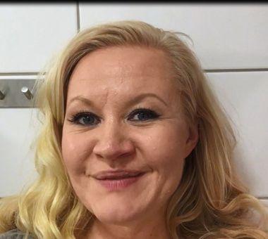 Henkilökuva: Lotta Backlund on Nutrilett-lähettiläs.