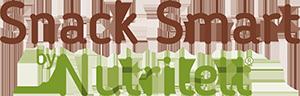 Tuotemerkki: Snack Smart by Nutrilett. Tuotesarjan logo.