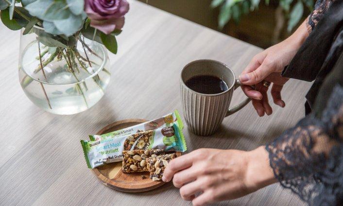Ravitseva aamupala painopudottajalle