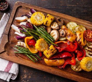 Vähäkalorinen ruoka ja grillaus