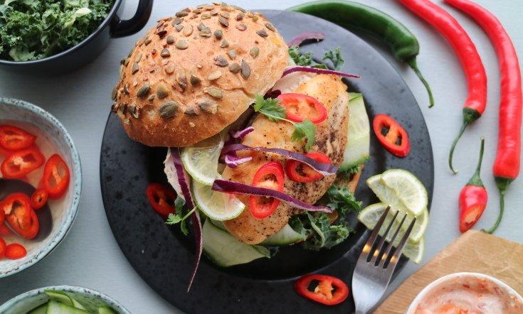 Kanahampurilainen on terveellinen ruoka