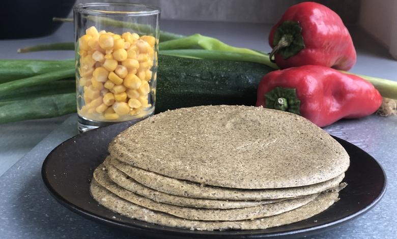 vähähiilihydraattisten tortillalettujen resepti