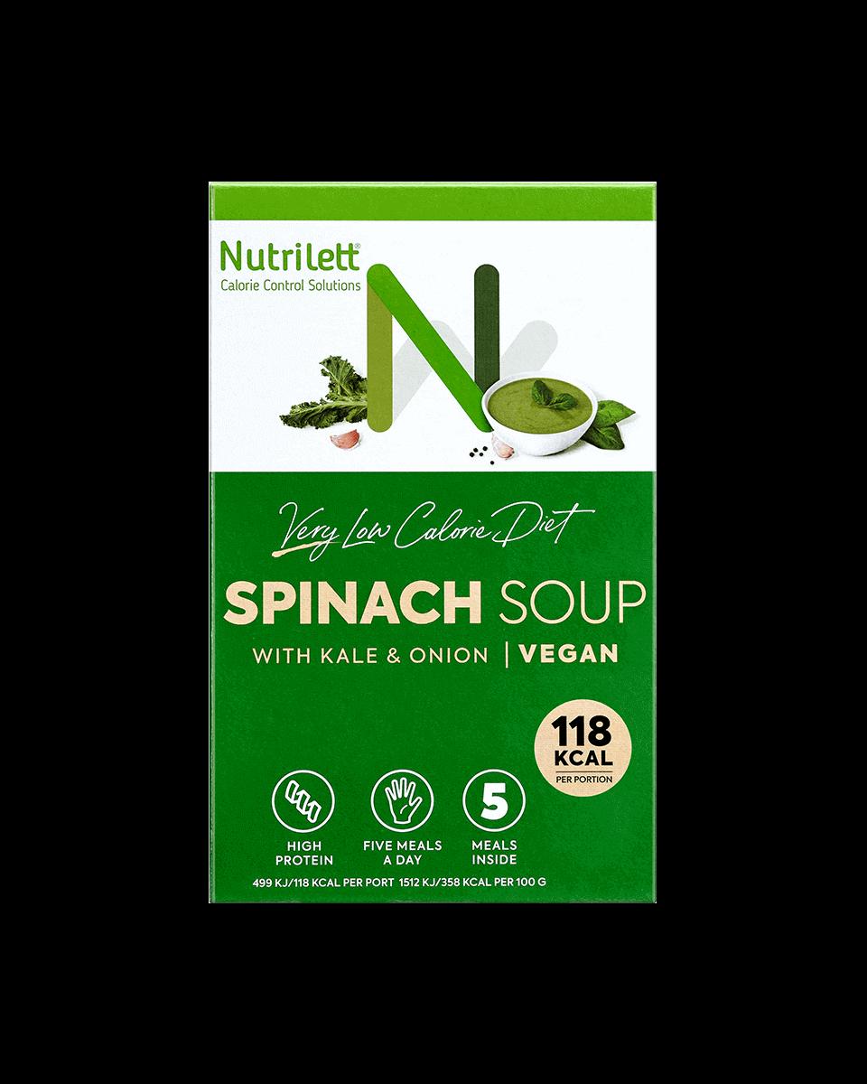 Spinach Soup Kale & Onion