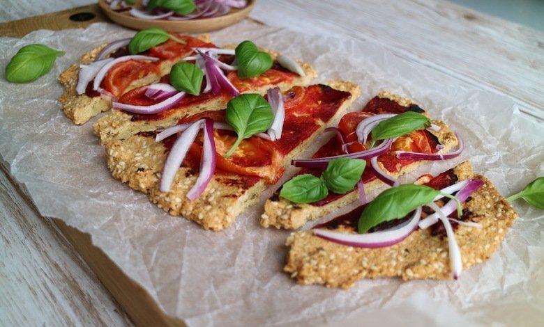 Vähähiilihydraattinen pizza