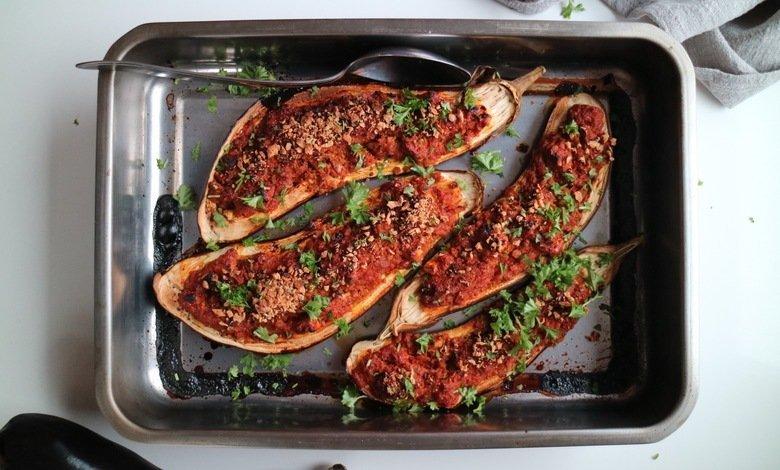 Resepti: Vähäkaloriset paistetut munakoisot.