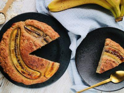Vegaaninen Banaanikakku