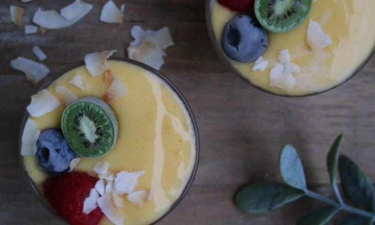 Mango-kookos-smoothien ohje